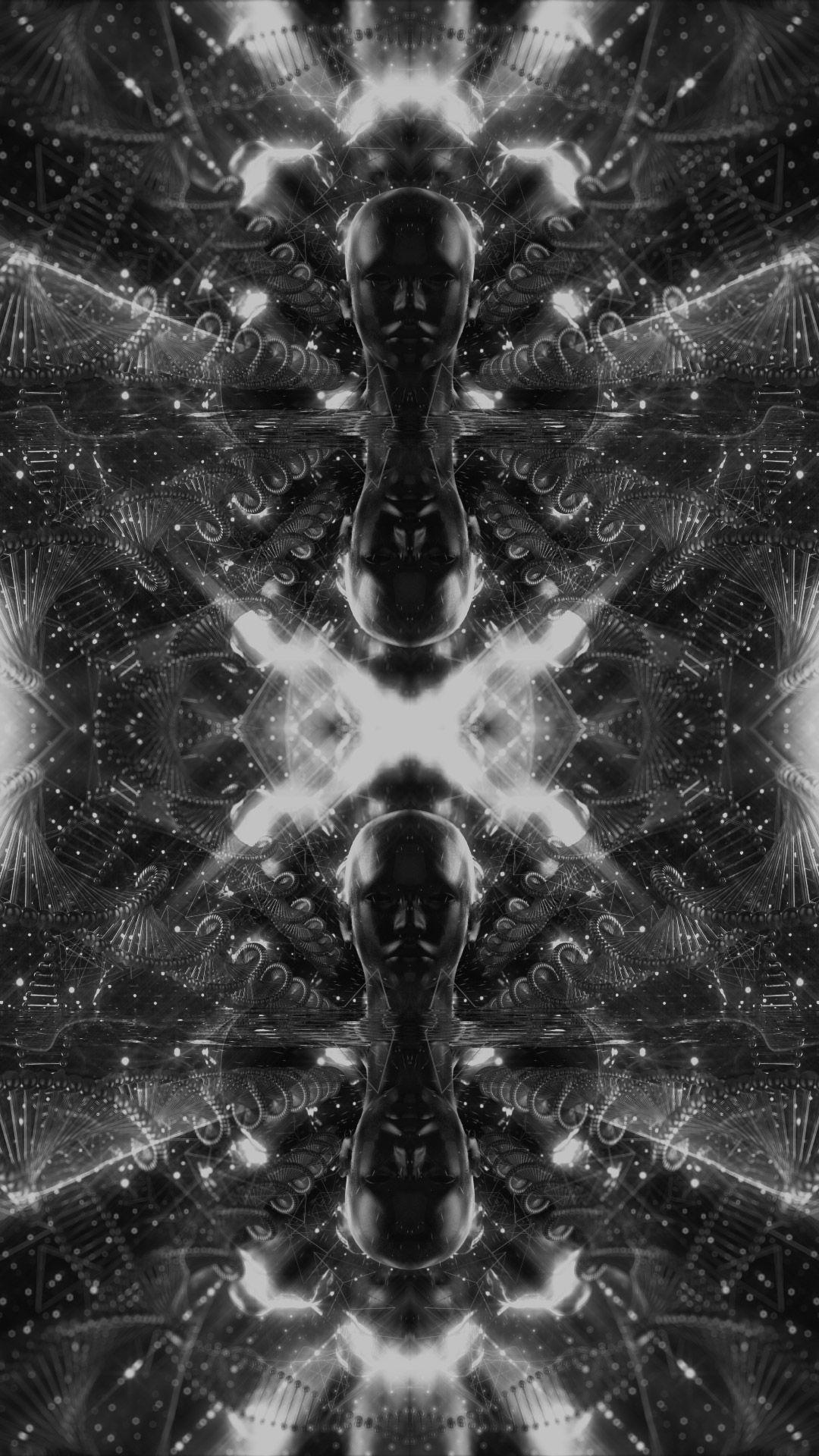 3d Wallpapery Bufo Alvarius The Underground Secret Art Painting Celestial