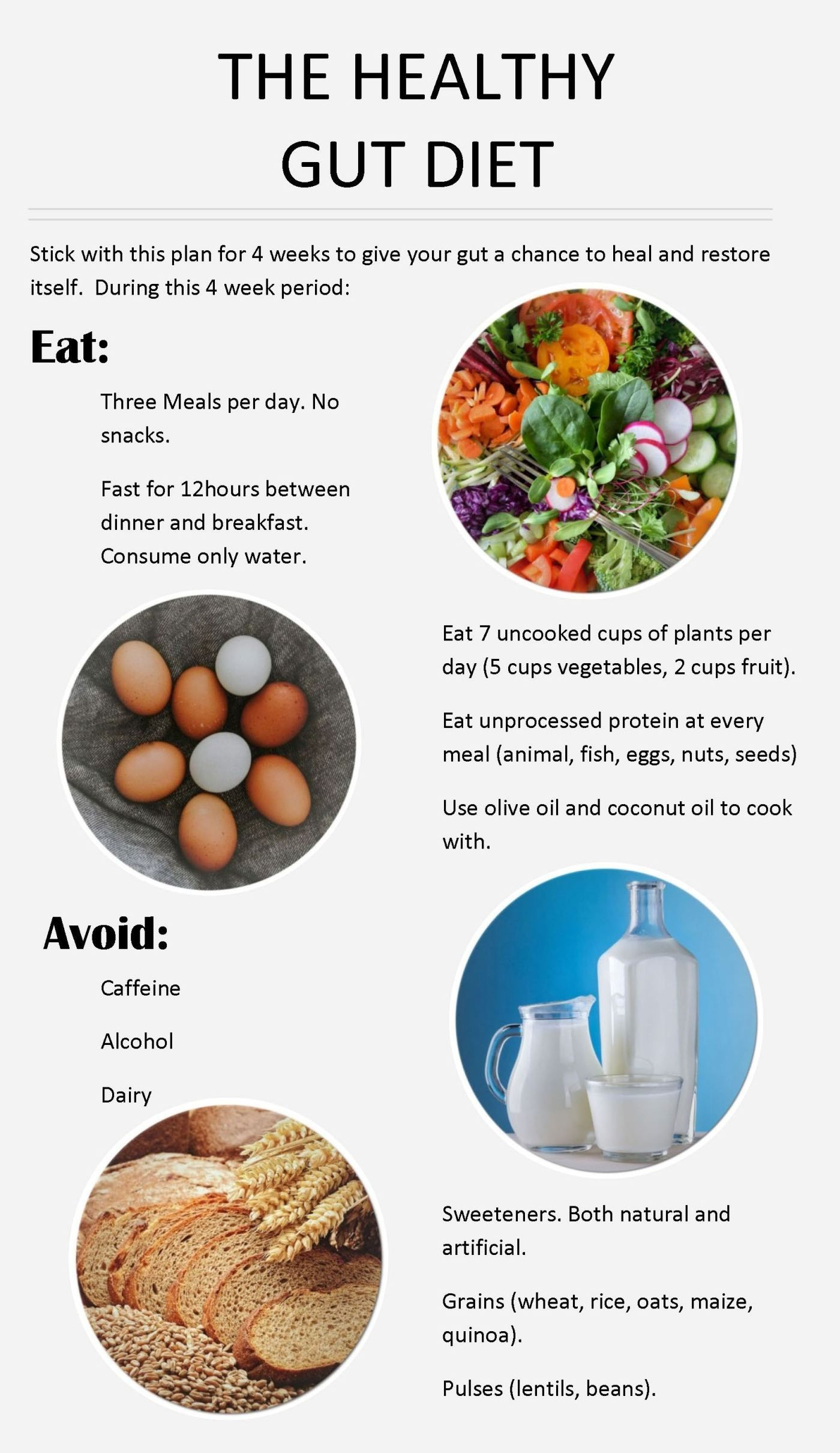 Exactly What To Do To Improve Your Gut The Gut Health Diet Gut Health Diet Healthy Gut Diet Health Diet