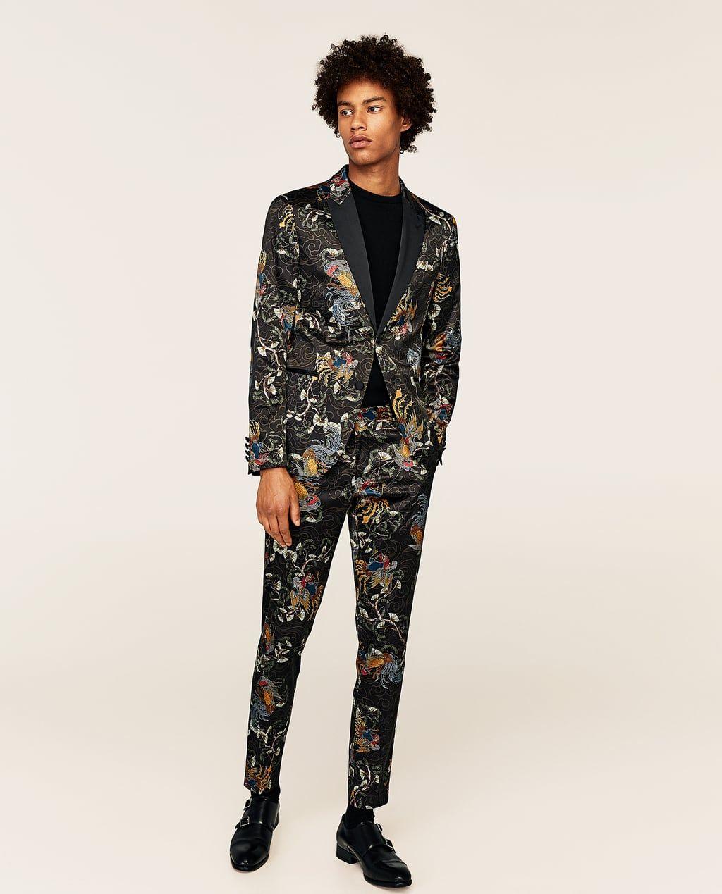 Image 1 of PHOENIX SUIT BLAZER from Zara   moodboards   Zara suits