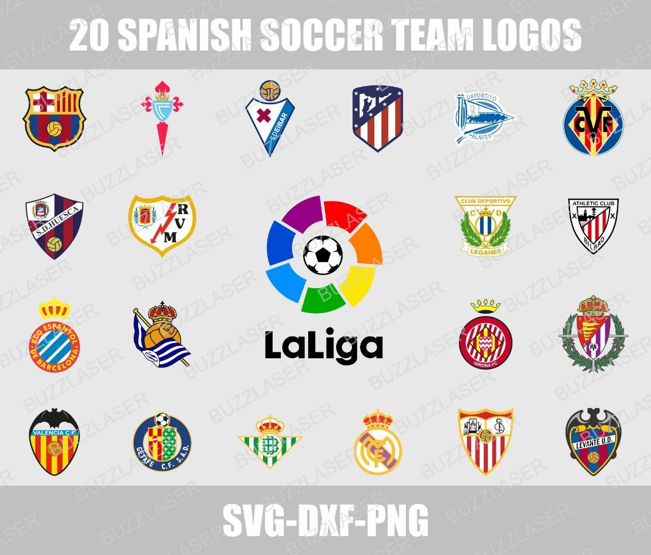 20 Spanish Soccer Team Logos The Globe