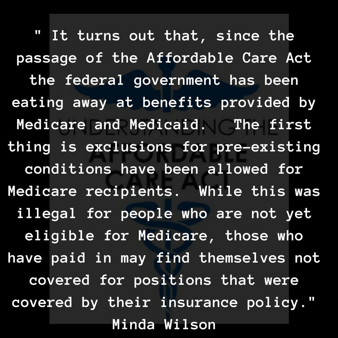 Minda Wilson on Health care for all, Medicaid