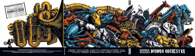 Fabien Doulut Illustrations | WOMBO Ruunga Mekanika