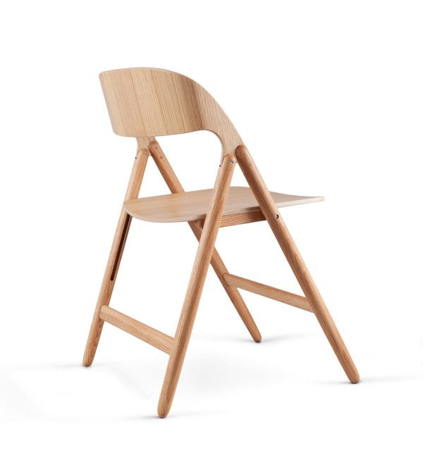The Folding Chair Gets A Modern Update Wood Chair Design