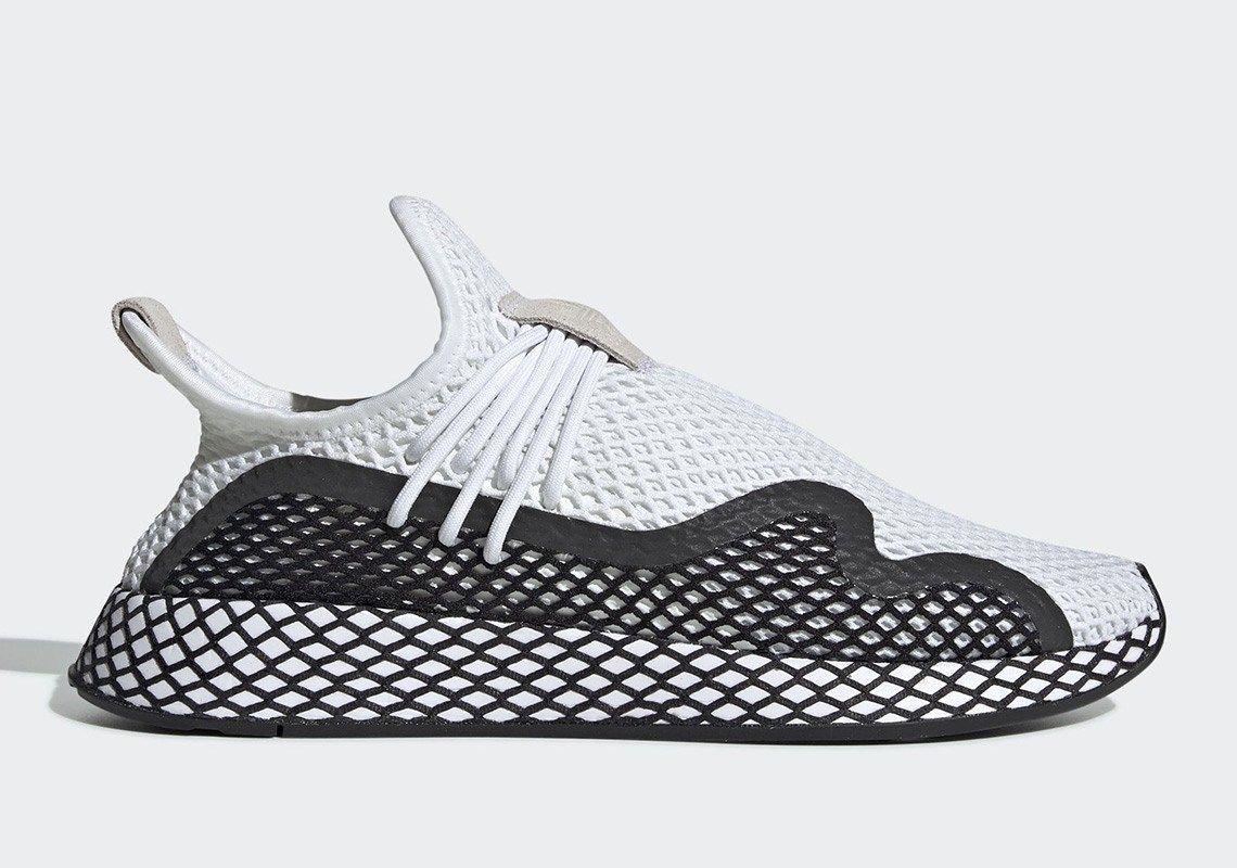 Adidas Deerupt S White Black | Sneakers