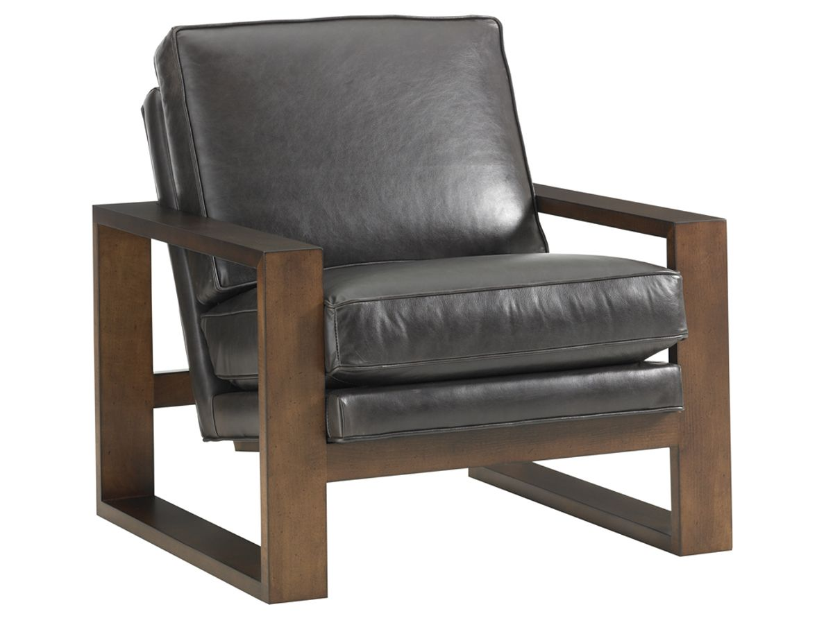 11 South Axis Leather Chair Lexington Home Brands