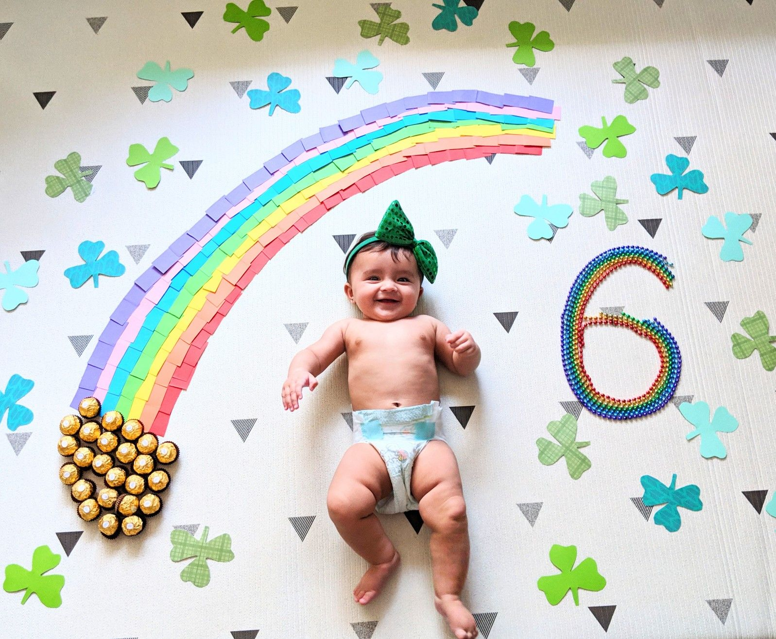 St Patrick S Day Monthly Photoshoot Baby Photoshoot Baby Girl Newborn Photos Baby Boy Newborn Photography