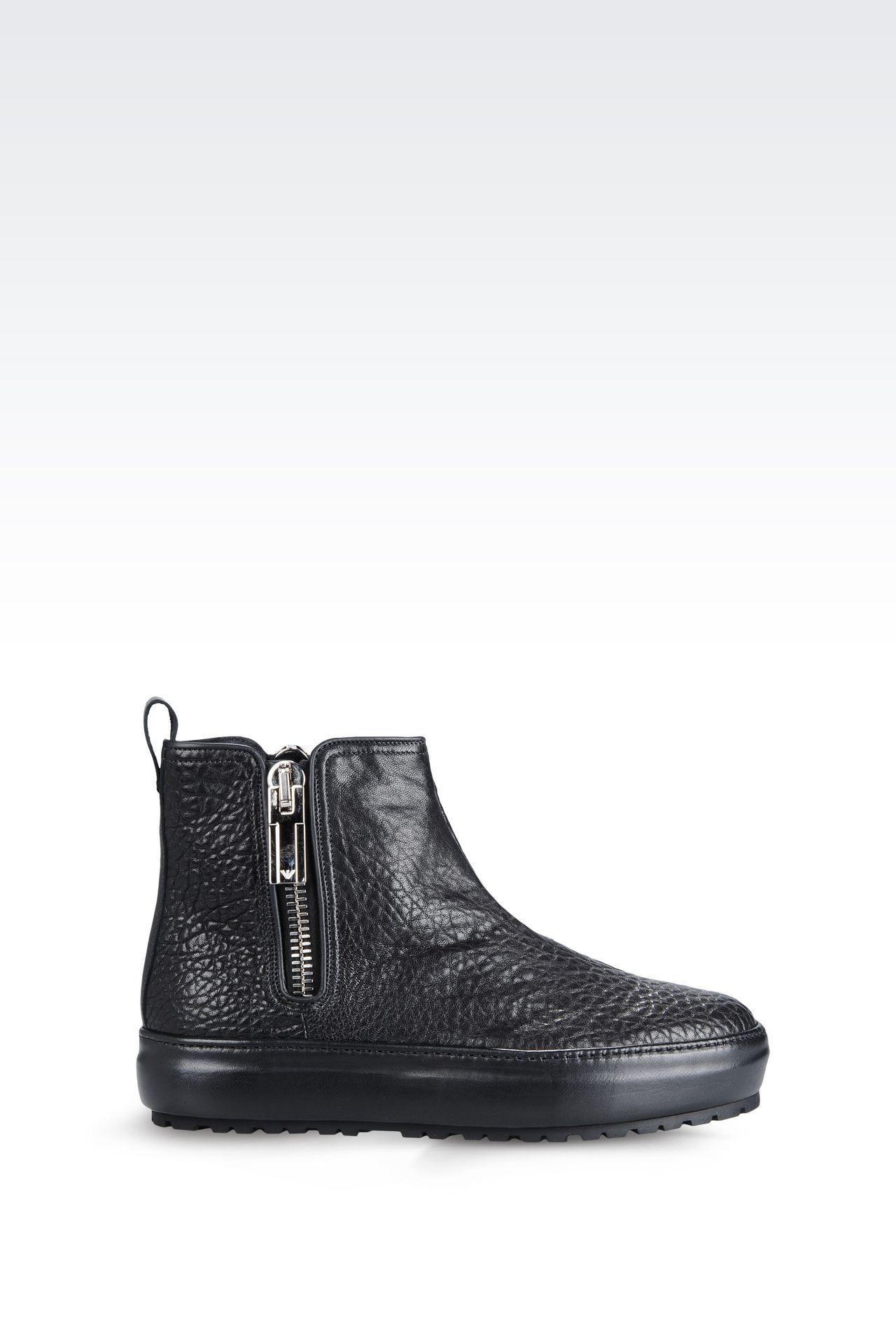 22e8787f66f Emporio Armani Men Ankle Boots - Emporio Armani Official Online Store