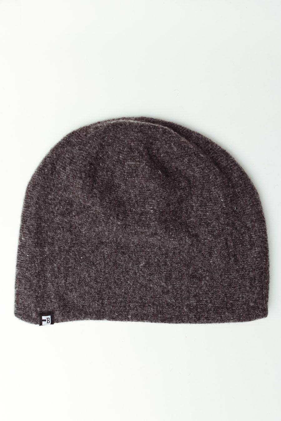 10 - Block - Knit Beanie in Charcoal Cappelli Da Uomo c9c5fe3e87d4