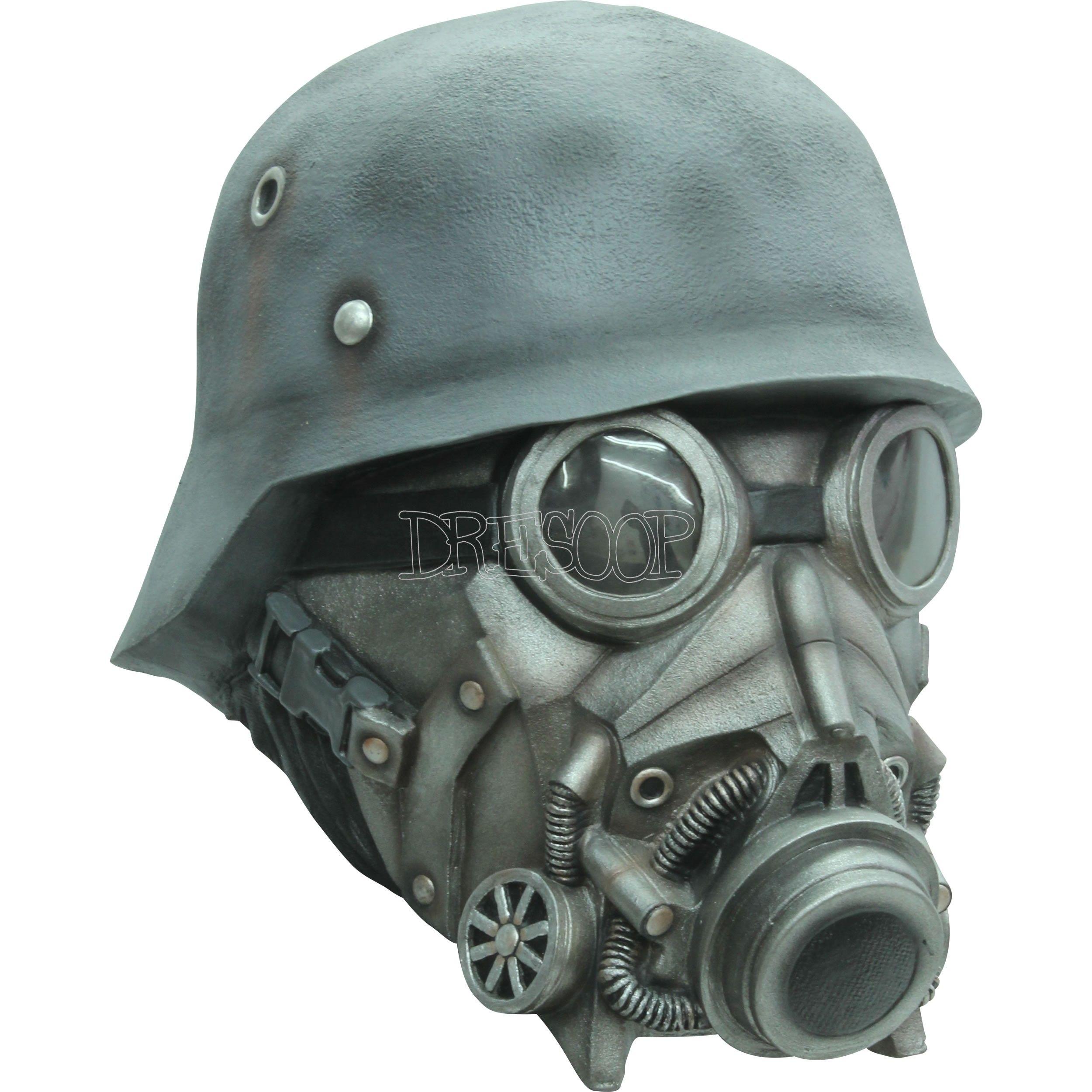Máscara Chemical Warfare Ghoulish - Dresoop.es | Máscaras ...