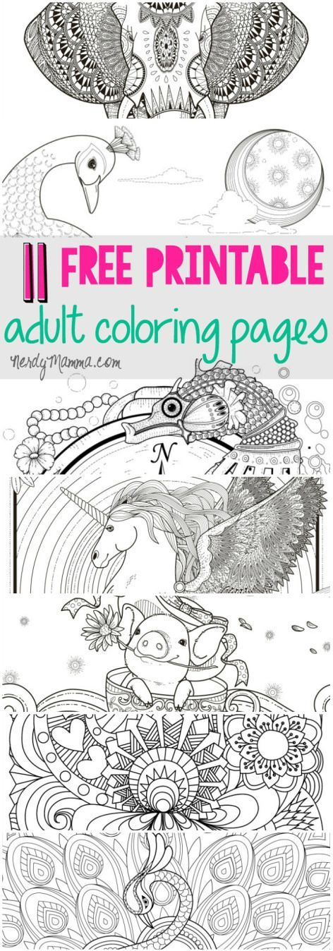 Coloring Book Printable Free : 20 gorgeous free printable adult coloring pages more colour book