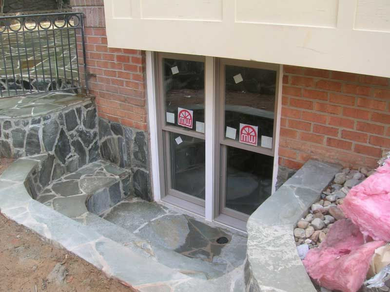 Egress window and basement walk out basement pinterest for Walkout basement windows