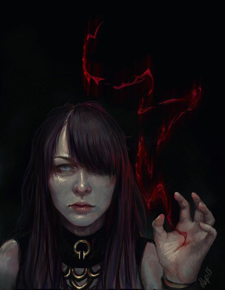 Blood Magic by EshiraArt.deviantart.com on @DeviantArt