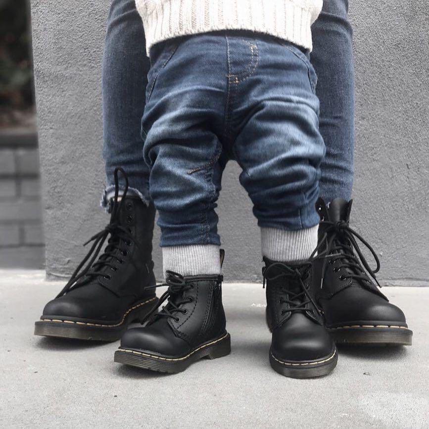 Boys winter clothes, Kids doc martens