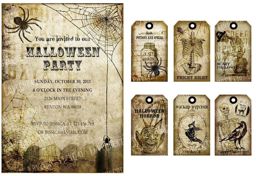 image regarding Free Printable Halloween Invitations for Adults titled Totally free printable Halloween invites for older people 2016 Joyful