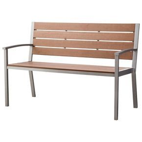 Bryant Faux Wood Patio Bench Threshold With Images Patio Furniture Collection Wood Patio Patio Bench