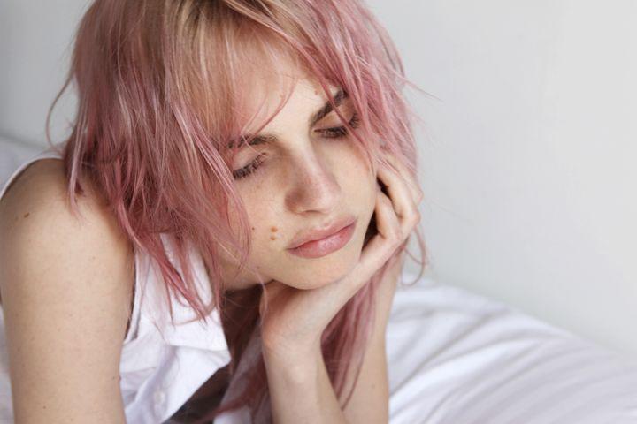 Andrej Pejic Androgynous Models Hair Pink Hair
