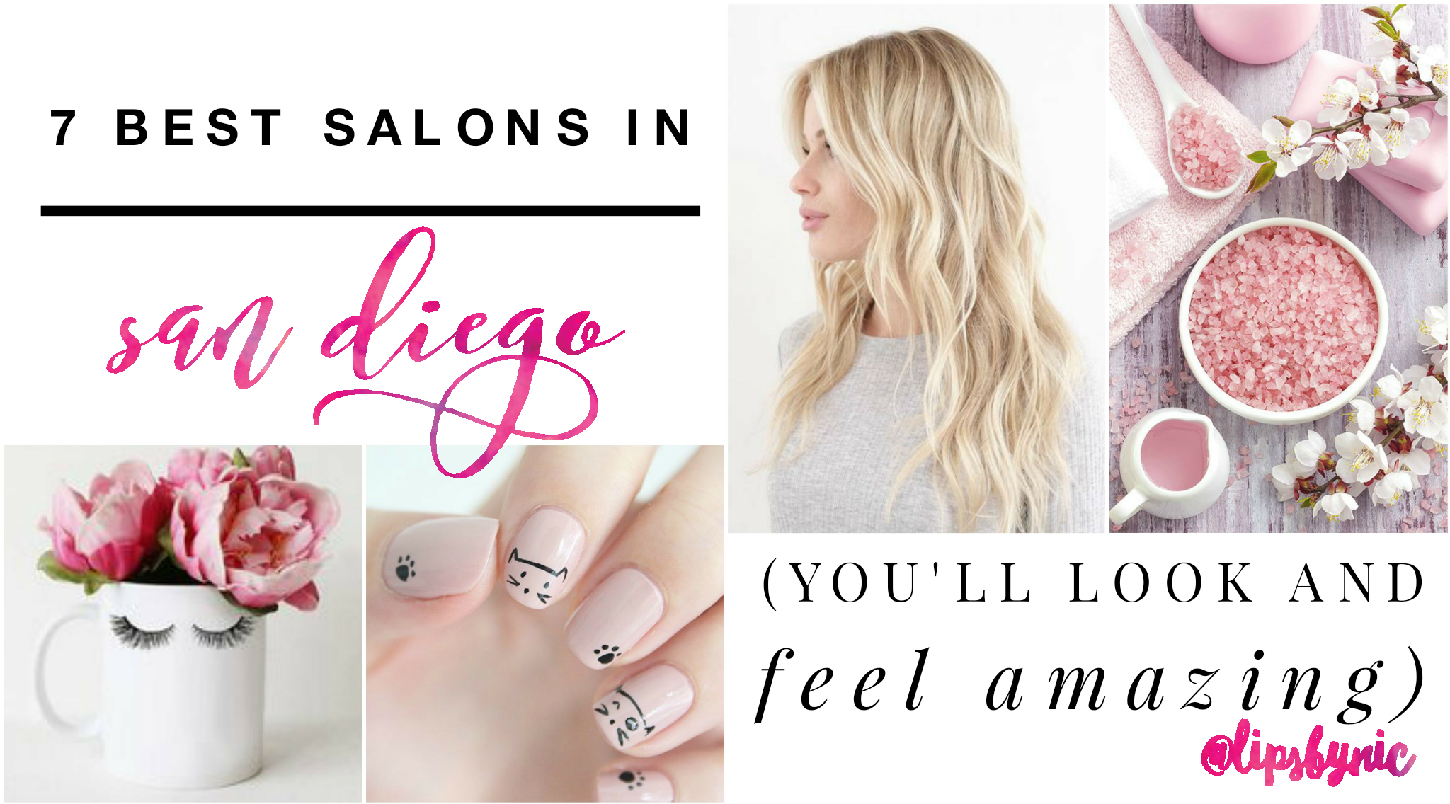 Looking for the best salons and spas in San Diego?  You've come to the right place!  Check out my honest reviews on my go-to spots in San Diego for all things beauty.