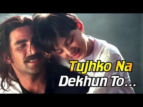 Tujhko Na Dekhun To Dil Ghabrata Jaanwar Songs Hd Akshay Kumar Udit Narayan Sunidhi Chauhan Youtube Udit Narayan New Music Albums New Hindi Songs