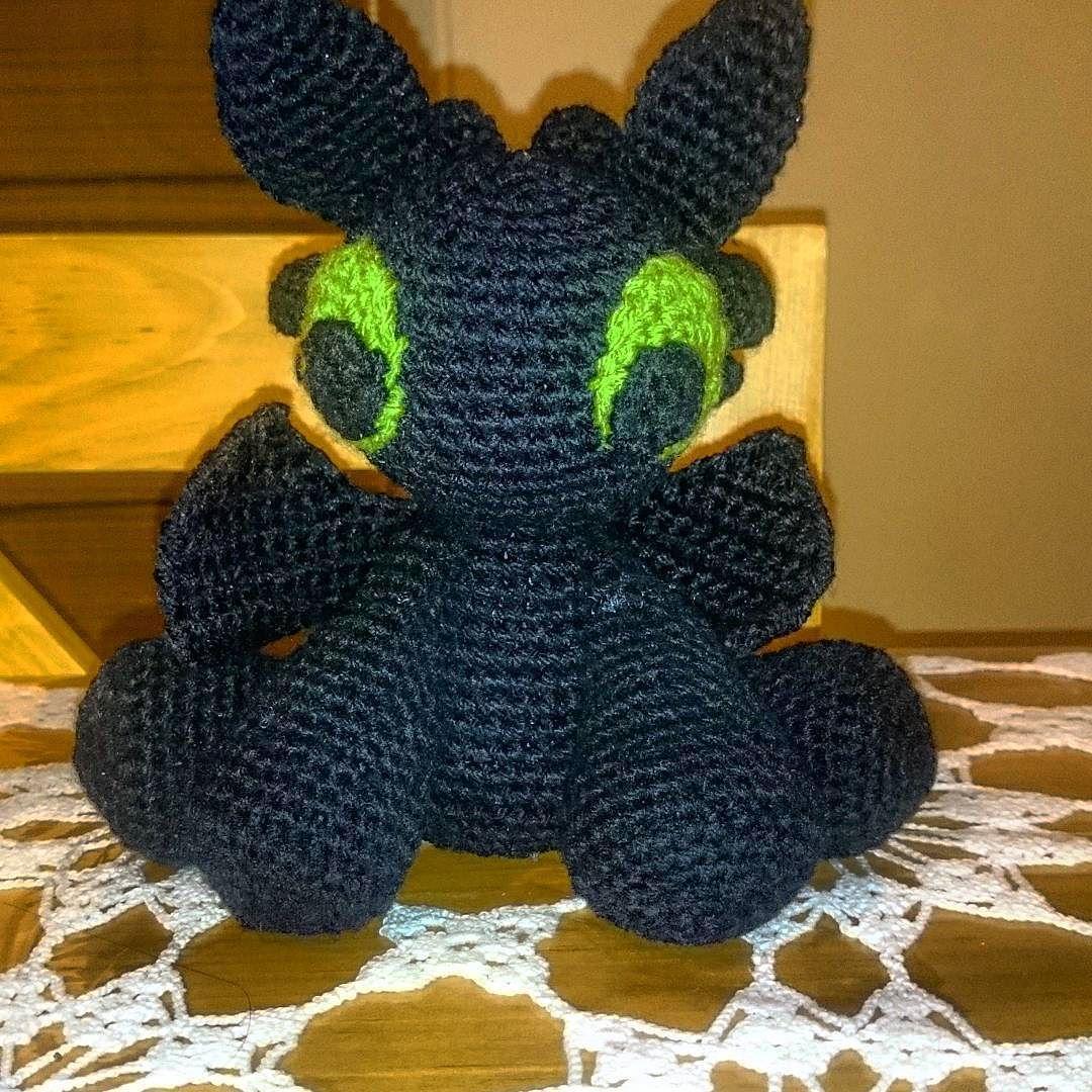 Toothless amigurumi (Chimuelo) | Patrones amigurumi, Crochet ... | 1080x1080