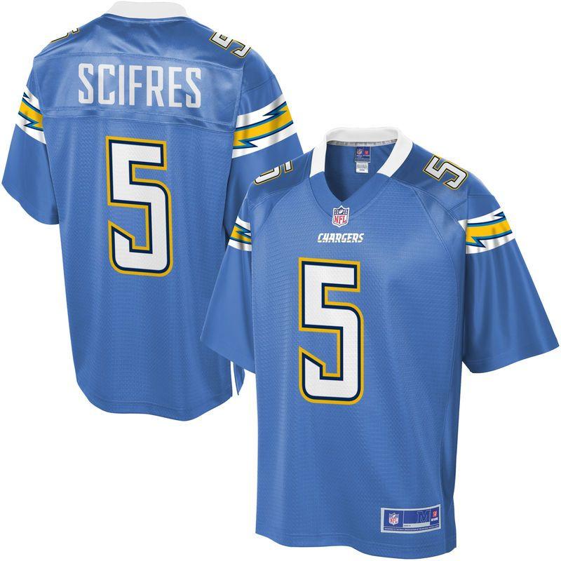 NFL Pro Line Mens Los Angeles Chargers Mike Scifres Alternate Jersey ... 5b2c23d6c