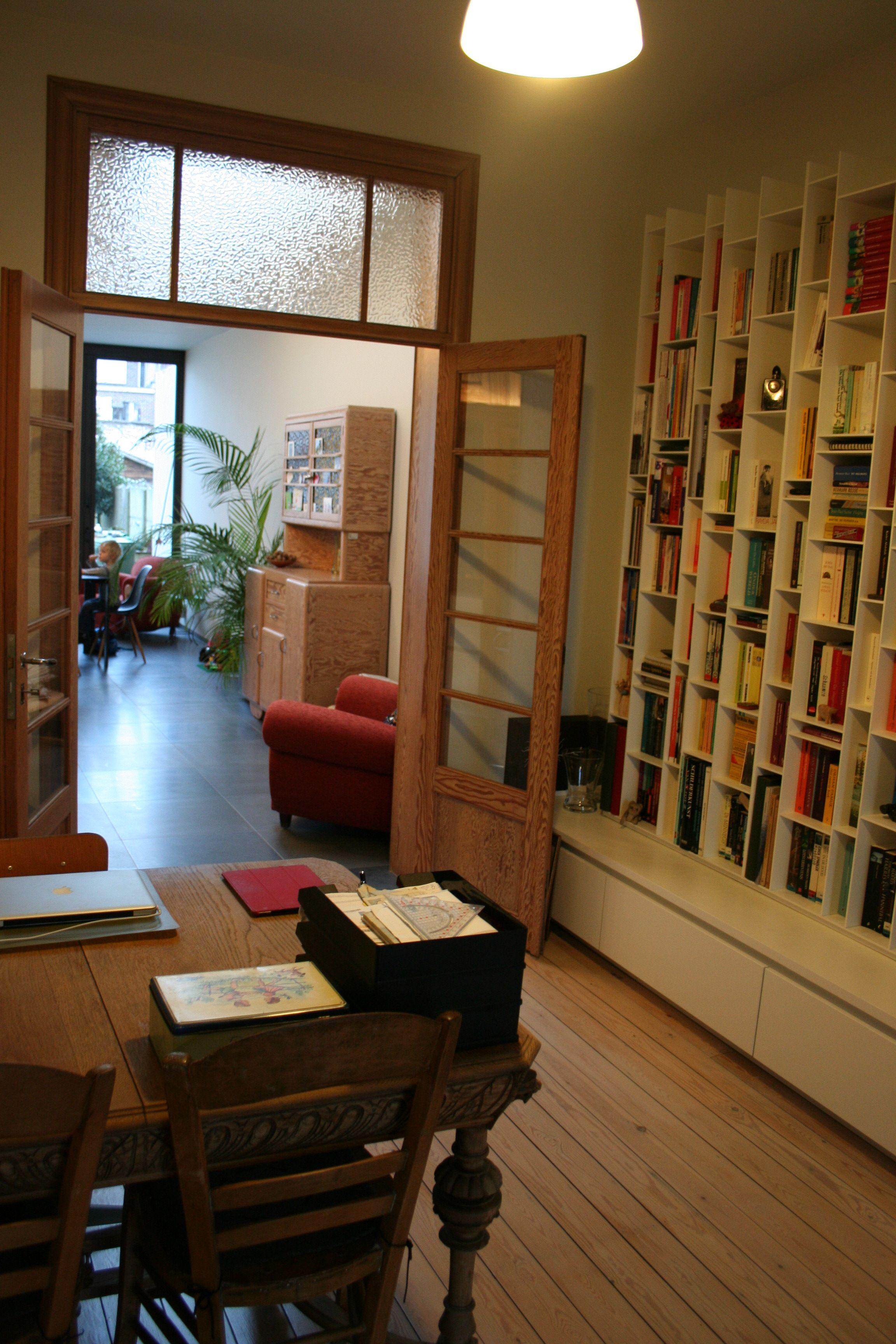 boekenkast MDF Italia random box - ruimte door architect a.wildro ...