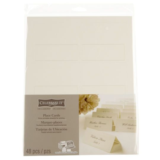 Add a creative touch to your special occasion! These high quality place cards are ideal for...$4.99