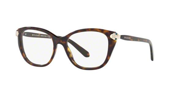 3f8bec4611d Read product info   customer reviews for Bulgari s BV4140B Women s Tortoise  Square Eyeglasses. Shop online or in-store at a LensCrafters near you!