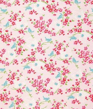 Sugar Hill - Pink Birdy by Tanya Whelan