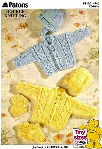Vintage Patons Baby Knitting Patterns Vyazanie Devochkam Baby