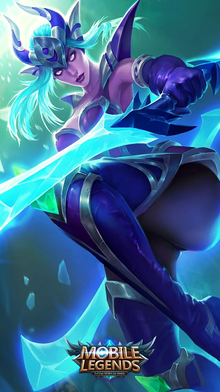 Karina Shadow Blade Mobile Legends Bang Bang Pinterest Hero