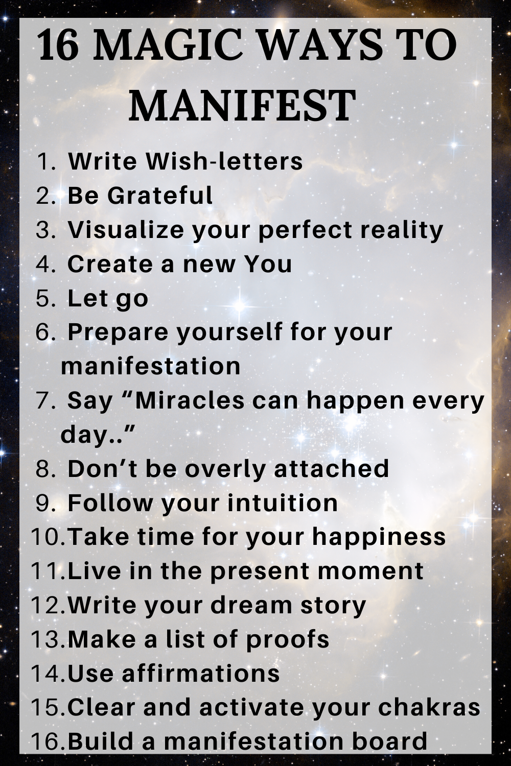 How to Manifest Anything You Want in 24 Hours