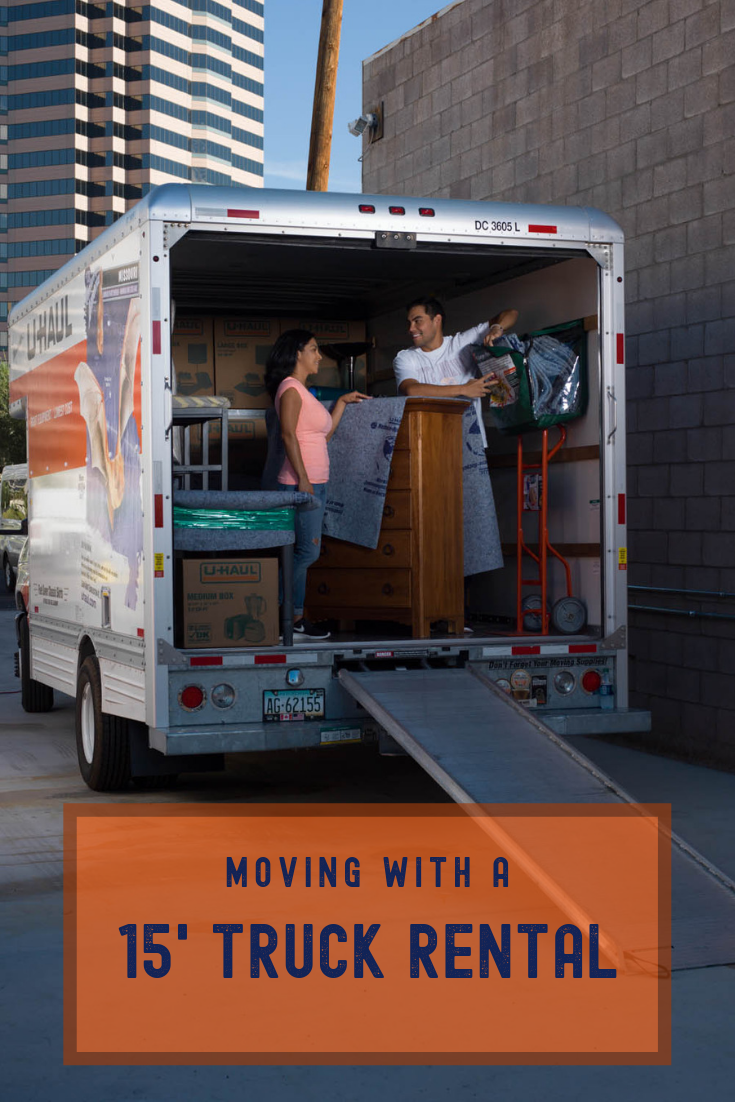 Moving With A 15 U Haul Truck Moving Insider Truck Bedroom U Haul Truck Moving Truck