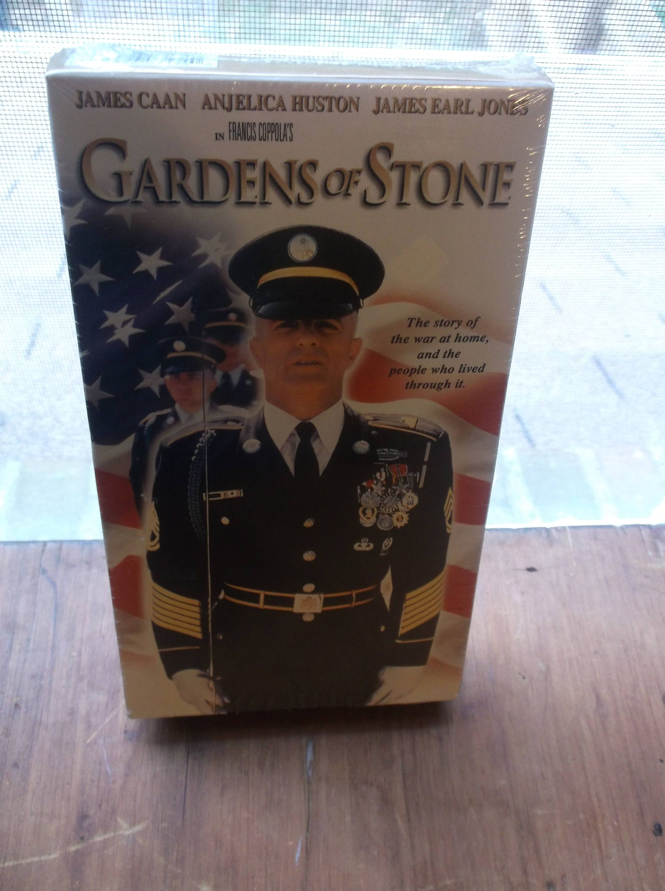 Garden Of Stone Movie Vhs tape gardens of stone james earl jones the story of the war at vhs tape gardens of stone james earl jones the story of the war at home and workwithnaturefo