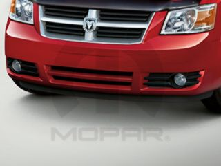 2008 2009 Dodge Grand Caravan Fog Lamp Lights Kit Mopar Genuine