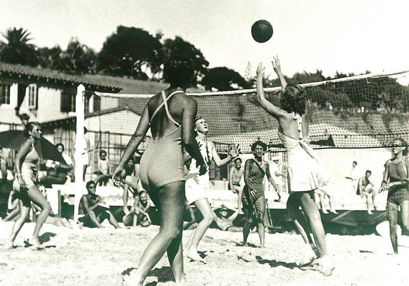 Sportives Beach Volleyball Deauville Beach Woman Beach