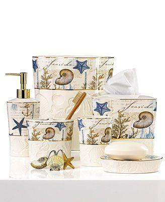 Avanti Bath Accessories Antigua Shower Curtain Hooks