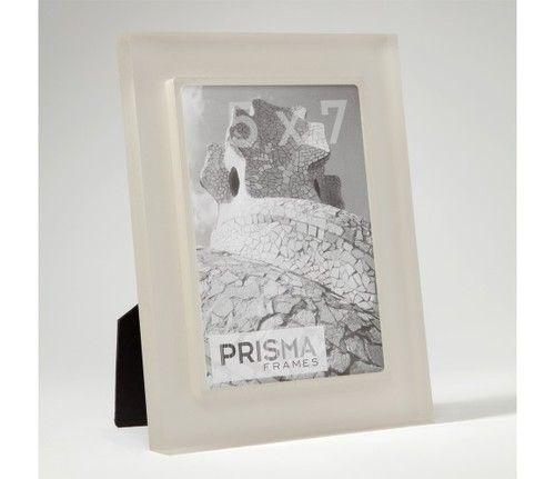 Silver Prisma Acrylic Picture Frame