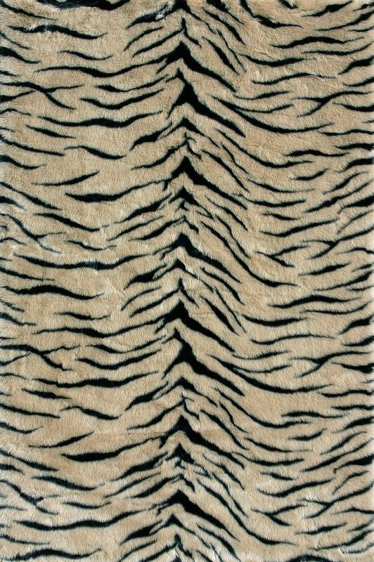 Loloi Danso Tiger Beige Rug 100 Acrylic Machine Made