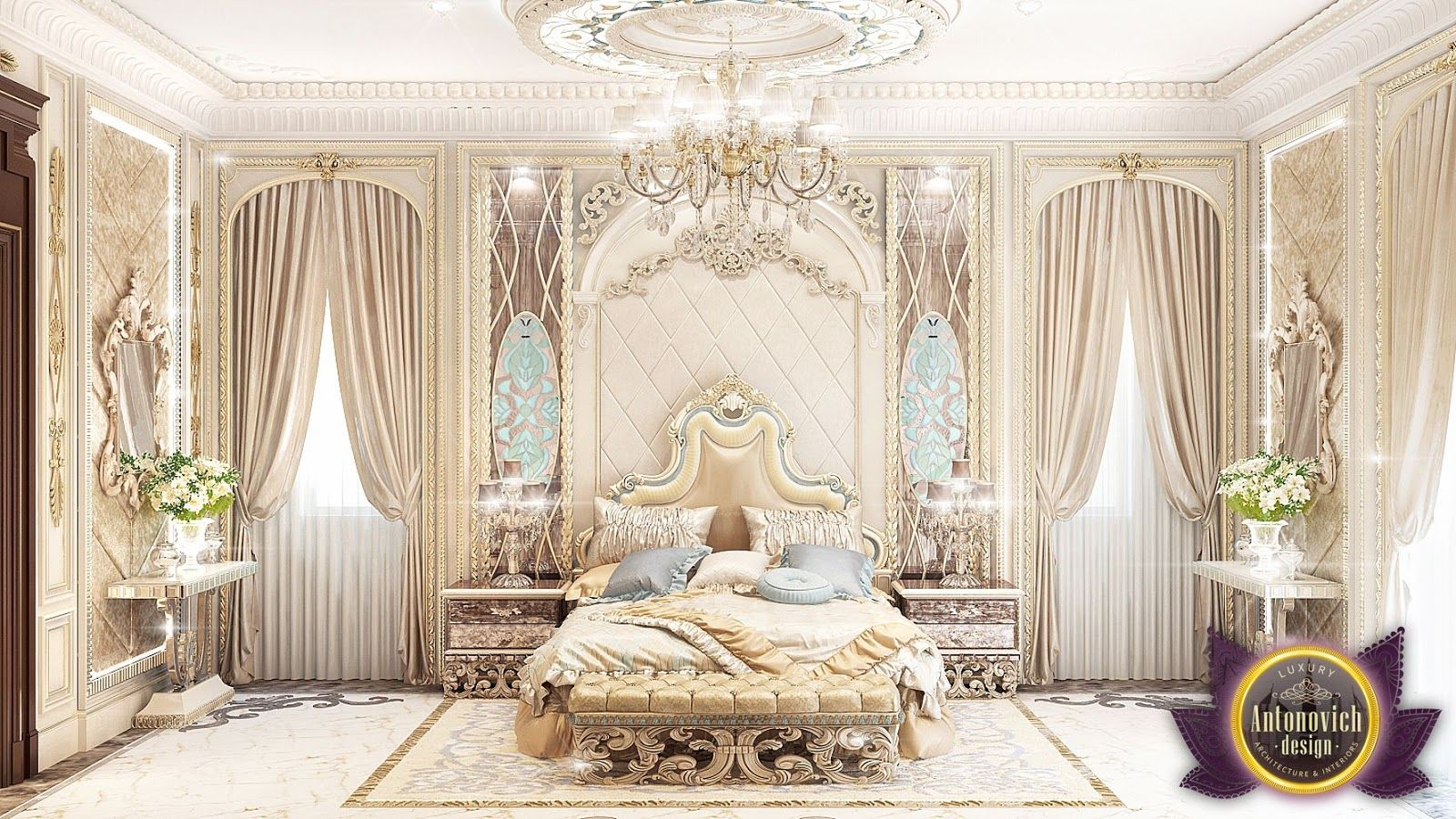 Beautiful dressing room design in dubai by luxury antonovich design - Find This Pin And More On Bedroom By Elbentalpurtoka