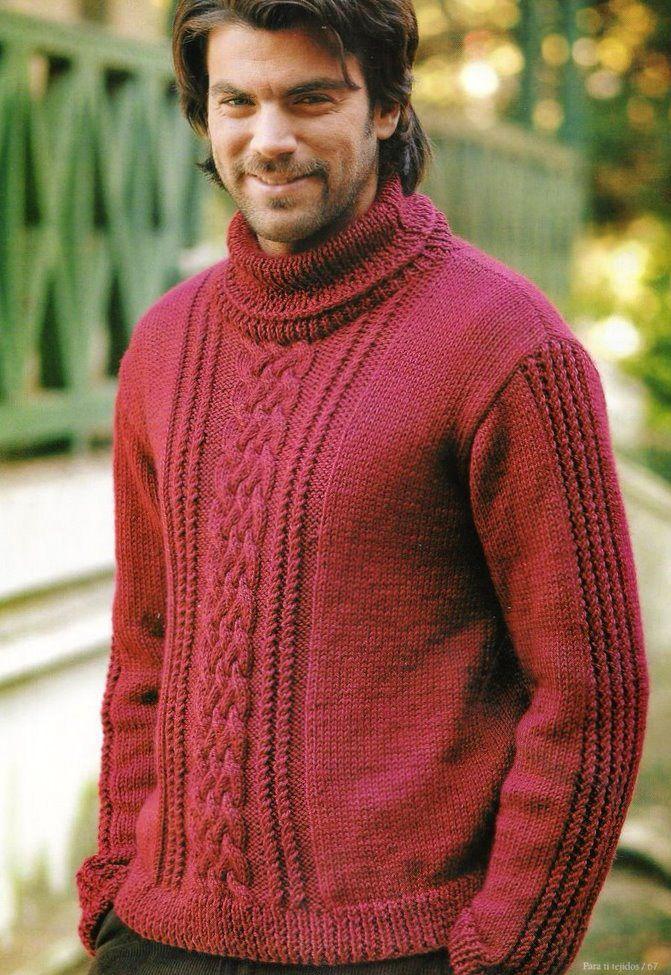 Suéter | tricot | Pinterest | Suéteres, Chalecos hombre y Tejido