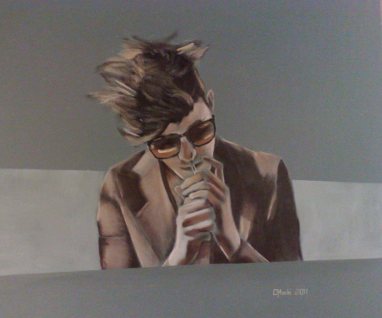 Acrylic On Canvas  Christopher O'Hoski