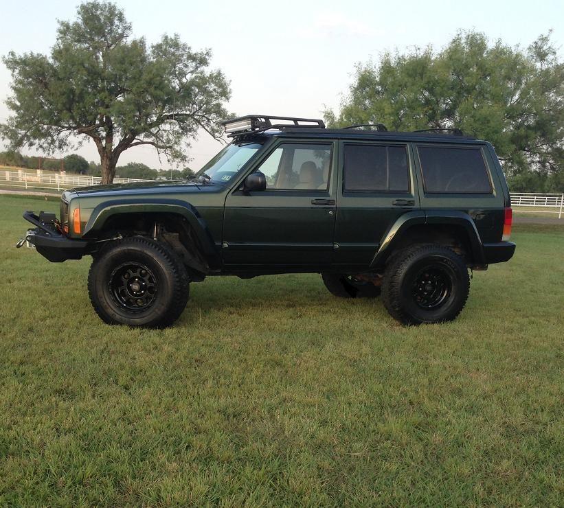 3 75 Lift Front 3 Rear 33s 15x9 Wheels Jeep Cherokee Jeep Car Dealer