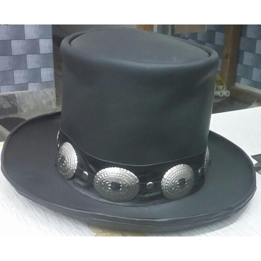 GUNS N ROSES SLASH Leather Hat in 2018  d5ce5883e05d