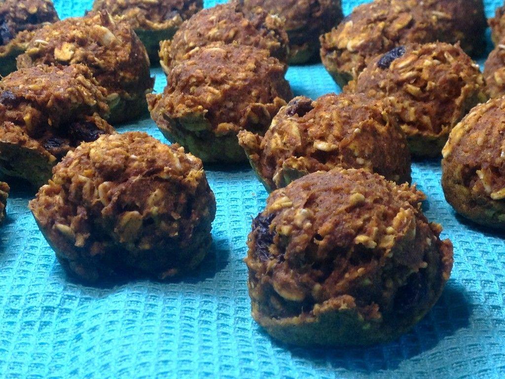 Pumpkin Oat Mini Muffins, Gluten Free | Vegan Sweet and Simple