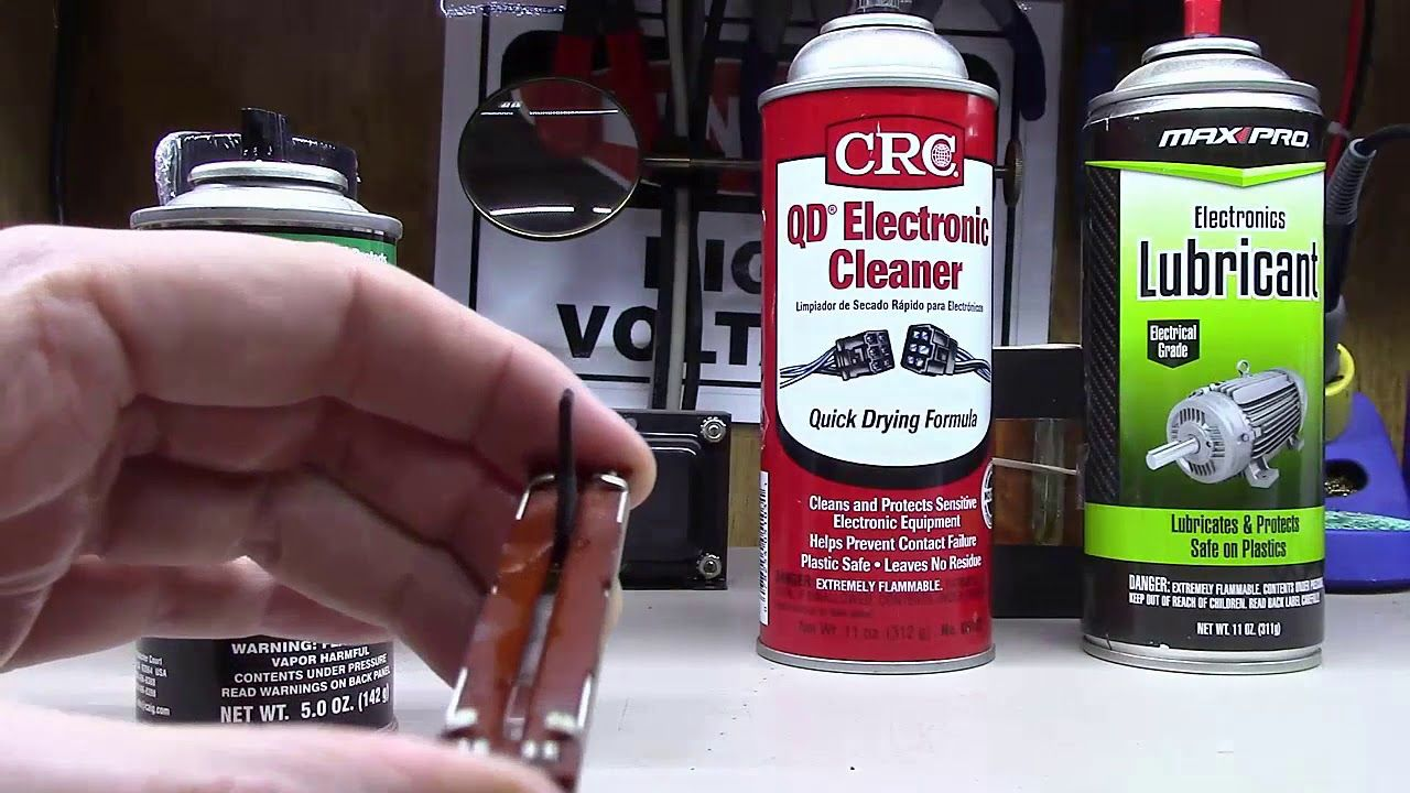 Deoxit Demystified How To Use It And Other Electronics Cleaners Youtube In 2020 Electronics Cleaners Electronics Cleaners