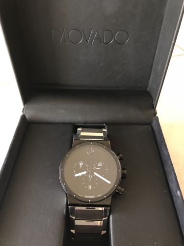 Movado Sapphire Synergy Chronograph Watch 0606800  513dbec80