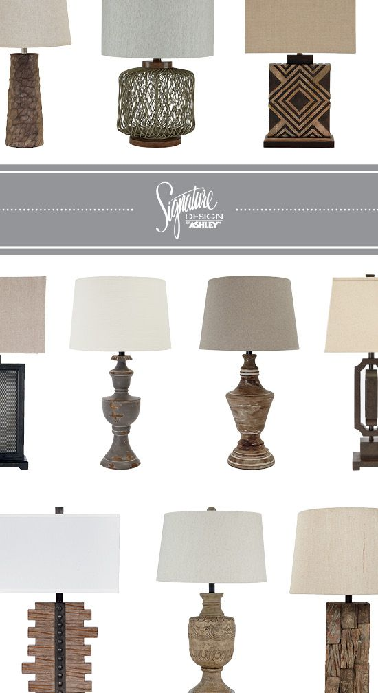 Lamps   Table Accent Lamps   Ashley Furniture