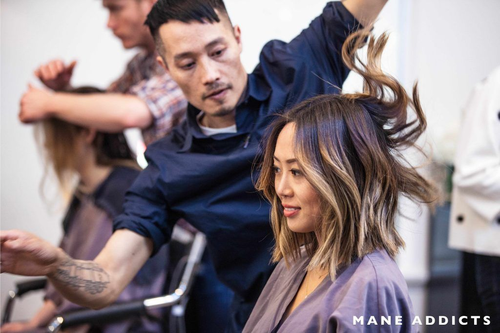 Exclusive Mane Makeover Aimee Song X Anh Co Tran Hair Styles Aimee Song Hair Hair Color Asian