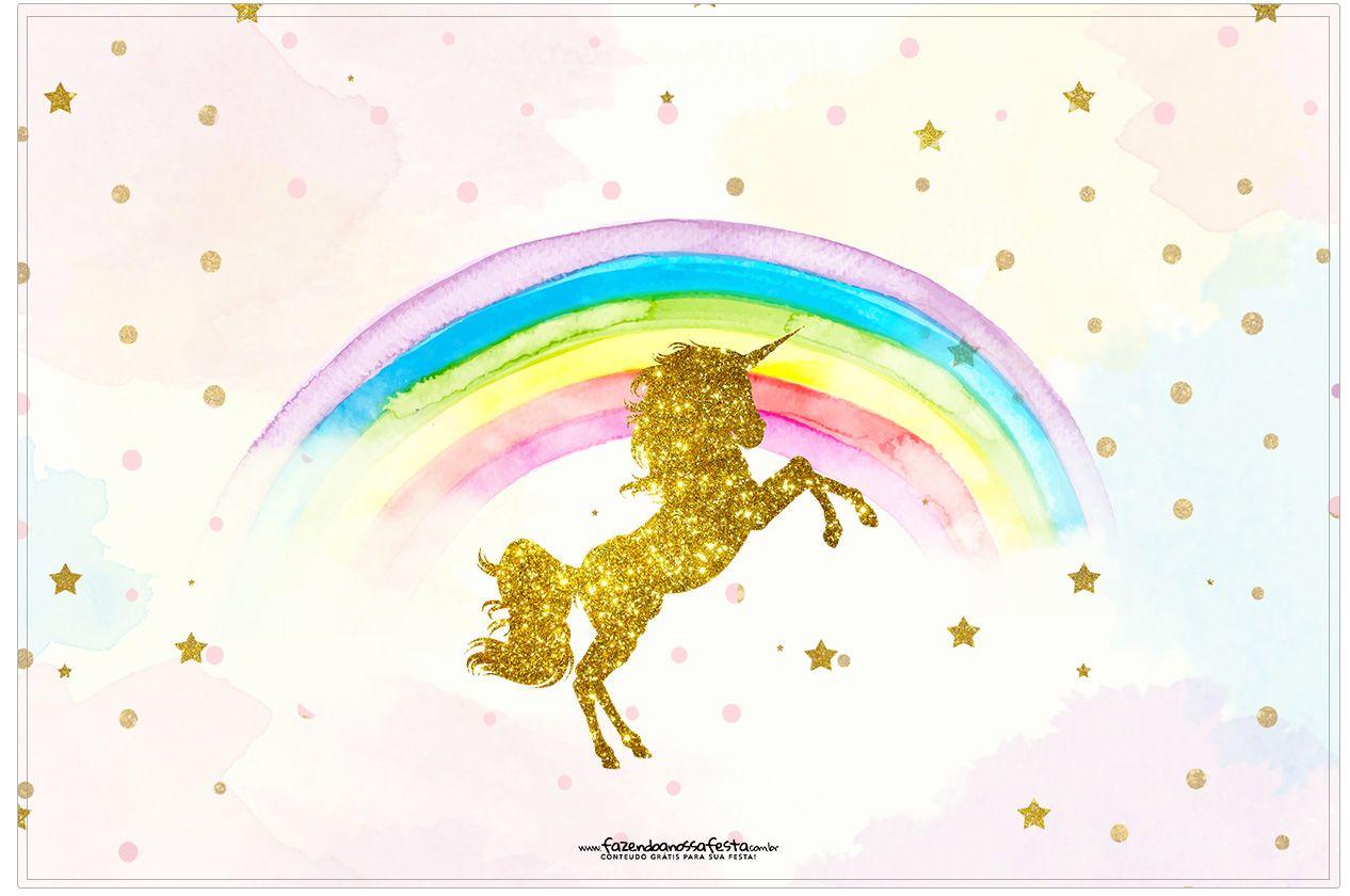 Fiesta de Unicornios: Etiquetas para Candy Bar para ...