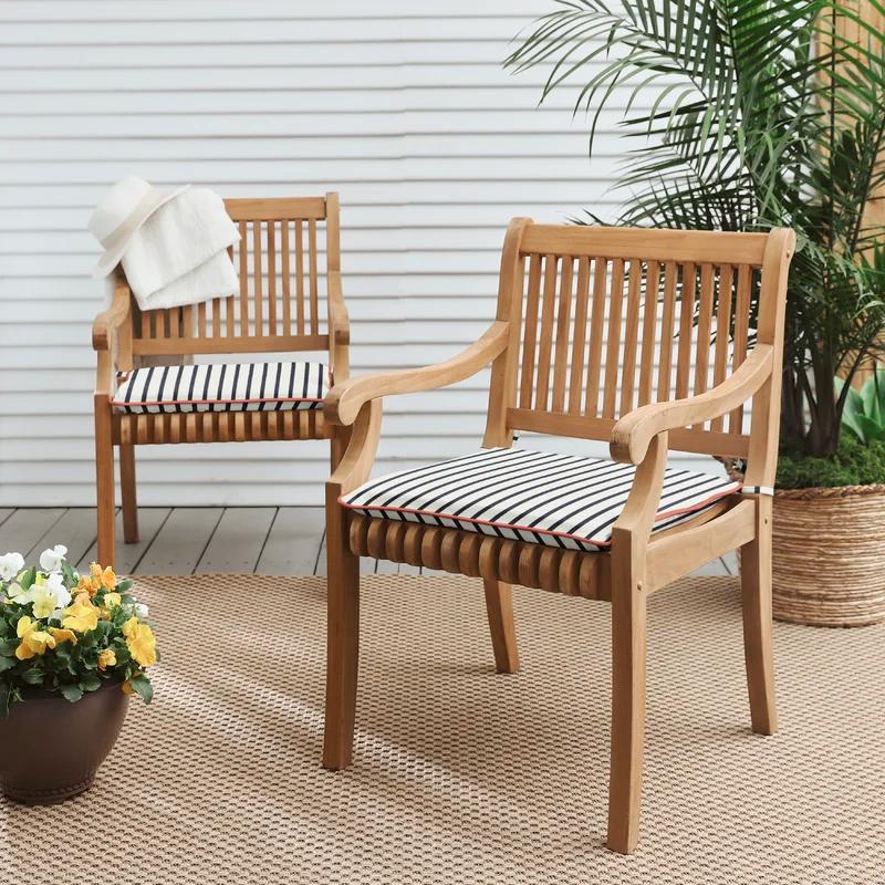 Melon Indoor Outdoor Sunbrella Chair Pad Outdoor Chair Pads Outdoor Dining Chair Cushions Sunbrella Chairs